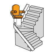 monte escalier fauteuil l vateur chaise montante handicap pmr. Black Bedroom Furniture Sets. Home Design Ideas